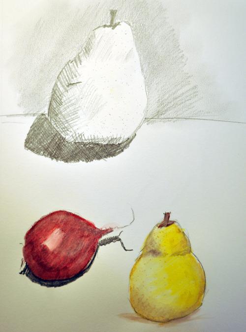 Pear-sketch