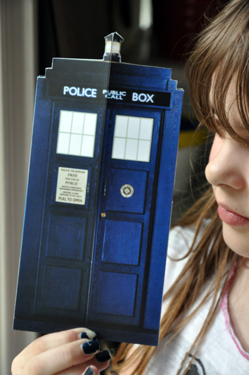Life Outside The Fishbowl A Doctor Who Birthday Party