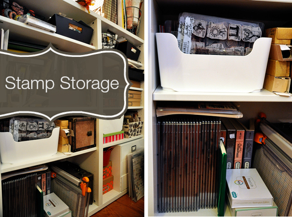Stamp storage ideas from Life Outside the Fishbowl