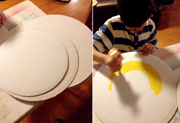 Nerf-Party-Making-Targets