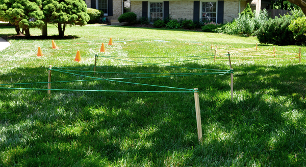 Nerf-Party-Obstacle-Course