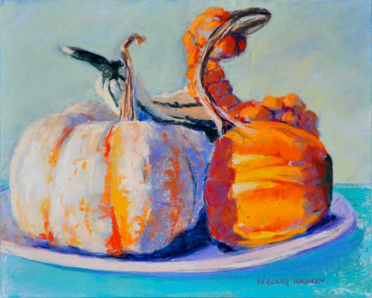 Still-Life-with-Pumpkins